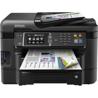 Epson WorkForce WF-3640DTWF Tinte Drucken/Scannen/Kopieren/Faxen Cardreader/LAN/USB 2.0/WLAN