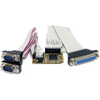 Startech MPEX2S1P552 2 Seriell / 1 Parallel Kombo 3 Port PCIe Mini Card retail
