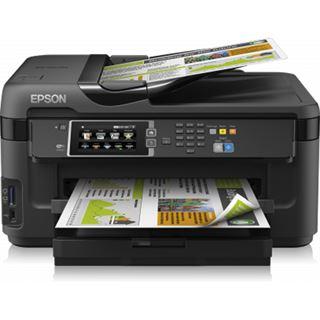 Epson WorkForce WF-7610DWF Tinte Drucken/Scannen/Kopieren/Faxen Cardreader/LAN/USB 2.0/WLAN