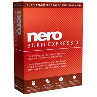 Nero Burn Express 3 32/64 Bit Deutsch Brennprogramm Vollversion PC (DVD)