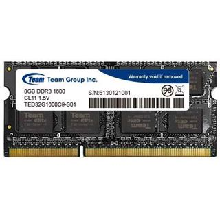 8GB TeamGroup Elite Series DDR3L-1600 SO-DIMM CL11 Single