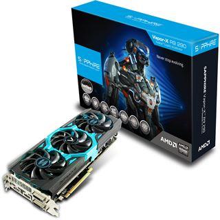 4096MB Sapphire Radeon R9 290 Vapor-X OC Aktiv PCIe 3.0 x16 (Retail)