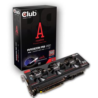 4096MB Club 3D Radeon R9 290 royalAce Aktiv PCIe 3.0 x16 (Retail)