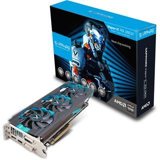 3072MB Sapphire Radeon R9 280X Vapor-X Tri-X OC Aktiv PCIe 3.0 x16 (Retail)