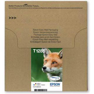 Epson T1285 Tintenpatrone schwarz und dreifarbig Standardkapazität 5.9ml and 3 x 3.5ml 4er-Pack online packaging