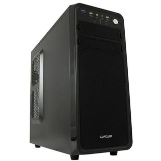 LC-Power Pro-927B Midi Tower ohne Netzteil schwarz