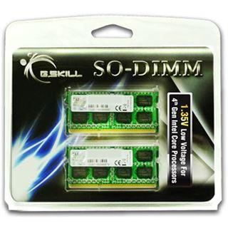 8GB G.Skill F3-1600C11D-8GSL DDR3L-1600 SO-DIMM CL11 Dual Kit