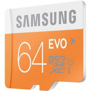 64 GB Samsung EVO microSDHC UHS-I Retail