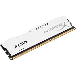 8GB HyperX FURY weiß DDR3-1866 DIMM CL10 Single