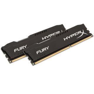 8GB HyperX FURY schwarz DDR3-1866 DIMM CL10 Dual Kit