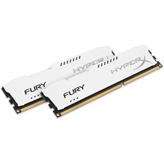 8GB HyperX FURY weiß DDR3-1866 DIMM CL10 Dual Kit