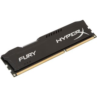 8GB HyperX FURY schwarz DDR3-1600 DIMM CL10 Single