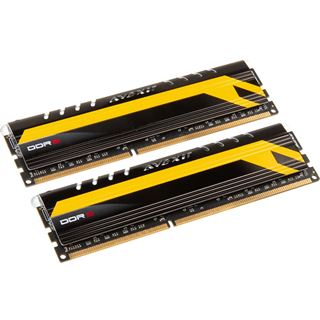 16GB Avexir Core Series MPOWER Edition blaue LED DDR3-2400 DIMM CL11 Dual Kit