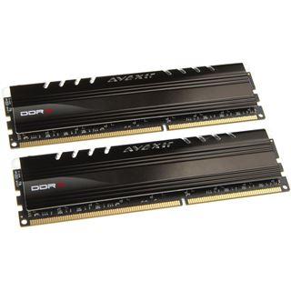 8GB Avexir Core Series gruene LED DDR3-2133 DIMM CL11 Dual Kit