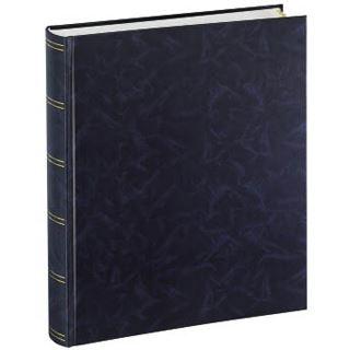 Hama Selbstklebealbum Birmingham, 28x33/72, Blau
