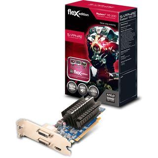 1GB Sapphire Radeon R5 230 FleX Passiv PCIe 3.0 x16 (Retail)