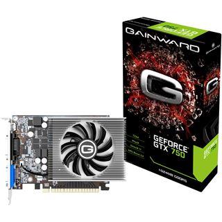 1GB Gainward GeForce GTX 750 Single Slot Aktiv PCIe 3.0 x16 (Retail)