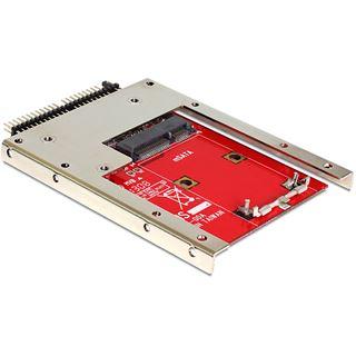 """Delock IDE 44-Pin auf mSATA Adapter Adapter für 2,5"""" SSDs (62495)"""
