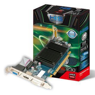 2GB HIS Radeon R5 230 Silence Passiv PCIe 2.1 x16 (Retail)