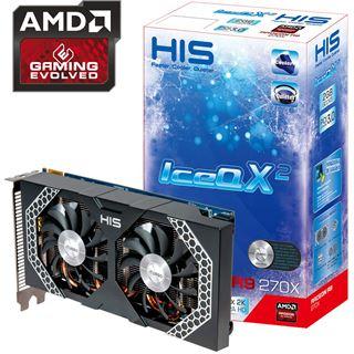 2048MB HIS Radeon R9 270X Mini IceQ X² Boost Clock Aktiv PCIe 3.0 x16 (Retail)