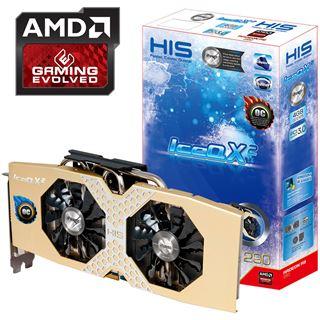 4GB HIS Radeon R9 290 IceQ X2 OC Aktiv PCIe 3.0 x16 (Retail)
