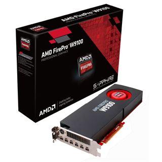 16384MB Sapphire FirePro W9100 Aktiv PCIe 3.0 x16 (Retail)