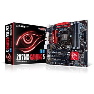 Gigabyte GA-Z97MX-Gaming 5 Intel Z97 So.1150 Dual Channel DDR3 mATX Retail