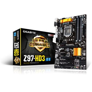 Gigabyte GA-Z97-HD3 Intel Z97 So.1150 Dual Channel DDR3 ATX Retail