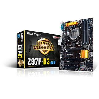 Gigabyte GA-Z97P-D3 Intel Z97 So.1150 Dual Channel DDR3 ATX Retail
