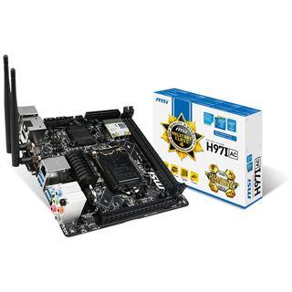 MSI H97I AC Intel H97 So.1150 Dual Channel DDR3 Mini-ITX Retail