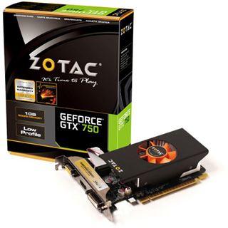 1GB ZOTAC GeForce GTX 750 Aktiv PCIe 3.0 x16 (Retail)