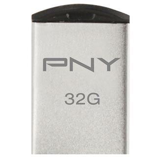 32 GB PNY Micro M2 Attache silber USB 2.0