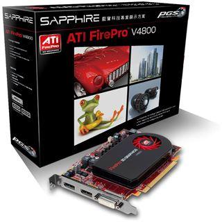 1GB Sapphire FirePro V4800 V4800 Aktiv PCIe 3.0 x16 (Retail)