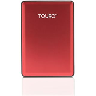 "1000GB Hitachi Touro S 0S03779 2.5"" (6.4cm) USB 3.0 rot"