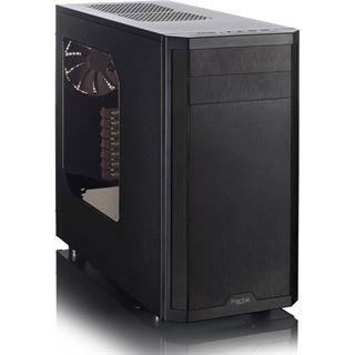 Fractal Design Core 3500 mit Sichtfenster Midi Tower ohne Netzteil schwarz