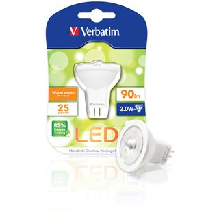 Verbatim LED MR11 Klar GU4 A+