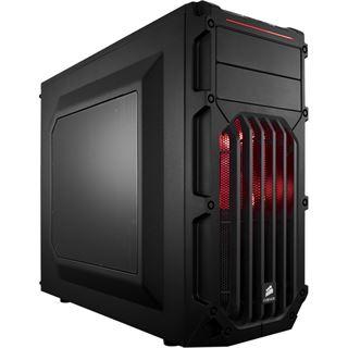 Corsair Carbide Series SPEC-03 rot mit Sichtfenster Midi Tower ohne Netzteil schwarz/rot