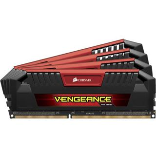 16GB Corsair Vengeance Pro Series rot DDR3-2133 DIMM CL9 Quad Kit