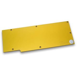 EK Water Blocks FC780 GTX Ti gold Backplate für GeForce GTX Grafikkarten (3831109868904)
