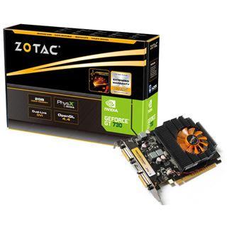 2GB ZOTAC GeForce GT 730 Aktiv PCIe 2.0 x16 (Retail)