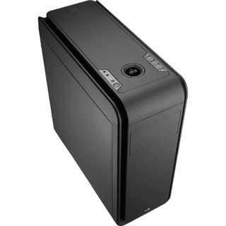AeroCool DS 200 Black Edition gedämmt Midi Tower ohne Netzteil schwarz