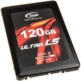 """120GB TeamGroup Ultra L5 2.5"""" (6.4cm) SATA 6Gb/s MLC (T253L5120GMC101)"""