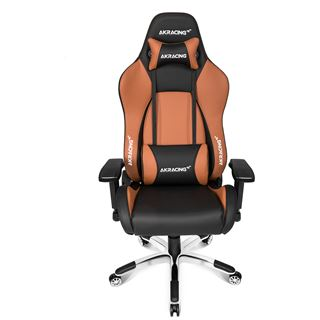 AKRacing Premium V2 Gaming Chair - schwarz/braun