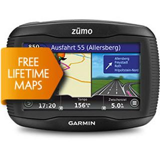 Garmin zumo 390LM PLUS Europa (Lifetime Map Update)