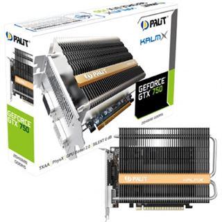 2GB Palit GeForce GTX 750 KalmX Passiv PCIe 3.0 x16 (Retail)