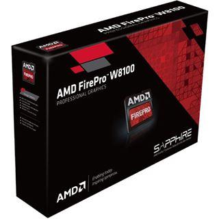 8192MB Sapphire FirePro W8100 Aktiv PCIe 3.0 x16 (Retail)