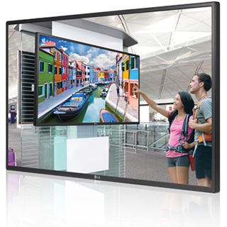 "55"" (139,70cm) LG Electronics 55WL30MS schwarz 1920x1080 Component-Eingang (Y/Pb/Pr) /DisplayPort/DVI-D/HDMI/VGA/seriell"