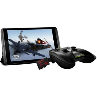 Black Bundle NVIDIA SHIELD Tablet WiFi 16GB + 128GB + Controller + Cover