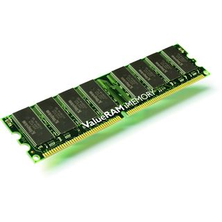 1GB Kingston ValueRAM DDR-400 regECC DIMM CL3 Single