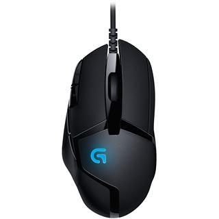 Logitech G402 Hyperion Fury USB schwarz/blau (kabelgebunden)